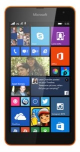 New Microsoft Lumia 535