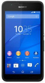 New Sony Xperia E4g