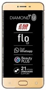 New Celkon Diamond U 4G (16GB - 2GB RAM)