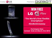 Win A Free LG G Flex: Participate Now!
