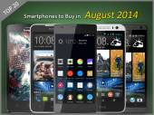 Top Launches: 20 Smartphones To Buy in August 2014