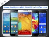 Top 15 Samsung Smartphones Available Online With Low Price Tags