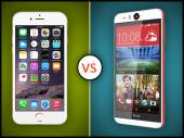 HTC Desire Eye Vs Apple iPhone 6: Specs Comparison