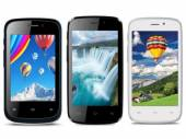 iBall Launches Andi 3.5F Grabit, 4F Waves and 4h Tiger+ Smartphones