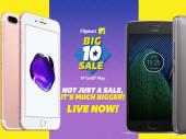 Flipkart Big 10 sale Day 3: Offer on iPhone 7, Moto G5 Plus and more