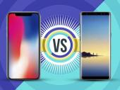 Apple iPhone X vs Samsung Galaxy Note 8: The battle of flagships