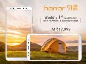 Honor 9i with 4-cameras vs best smartphones under Rs 20,000