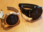 Moto 360 2nd gen Smartwatch two colour