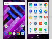 Moto G Turbo Edition first look software