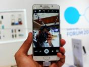 Samsung Galaxy A5 and A7 first impression front camera