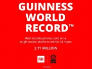 Xiaomi Just Entered Guiness Book Of World Record for Selling 2.1 Million Phones In A Day