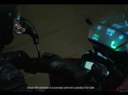 Meet the new Samsung Smart Motorcycle Windshield: It shows messages, calls and more