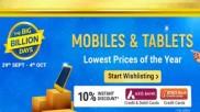 Flipkart Big Billion Days Preview Offers: List Of Smartphones On Discount