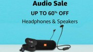 Buy Audio Gadgets, Speakers, Headphones And More At Up To 60% Off On Amazon
