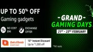 Amazon Grand Gaming Sale Offers On Gaming Gadgets And More