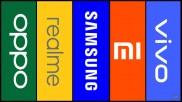 Top Five Smartphone Brands In India In 2020