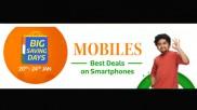 Flipkart Big Saving Days Sale Offers On Samsung F41, Galaxy S21 Ultra, Galaxy S20+, Galaxy A21s And More