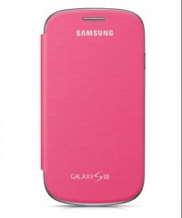 Samsung Galaxy S3 Flip Cover (Pink)