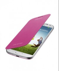 Flip Cover for Samsung Galaxy S4 (Pink)