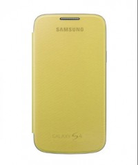 Flip Cover for Samsung Galaxy S4 (Yellow)