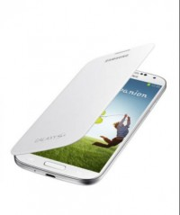 Flip Cover for Samsung Galaxy S4 (White)