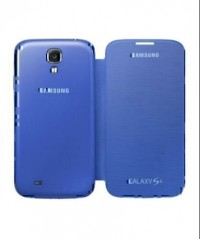Flip Cover for Samsung Galaxy S4 (Blue)