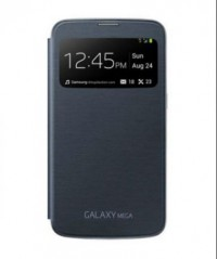 S-View Flip Cover for Samsung Galaxy Mega 6.3 (Blue)