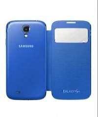 S-View Flip Cover for Samsung Galaxy S4 (Blue)