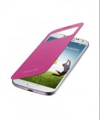 S-View Flip Cover for Samsung Galaxy S4 (Pink)