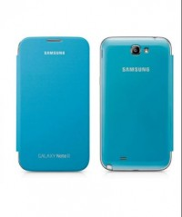 Samsung Galaxy Note 2 Flip Cover (Light Blue)