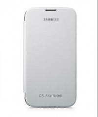 Samsung Galaxy Note 2 Flip Cover (White)