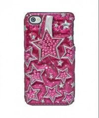 Amzer 3D Metallic Snap On Case for iPHone 4 (Multicolour)