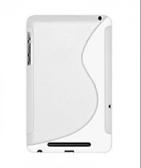 Amzer TPU Hybrid Case for Google Nexus 7/Asus Nexus 7 (White)