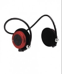 Atitude Flexible Bluetooth Headphone with Microphone (Red)