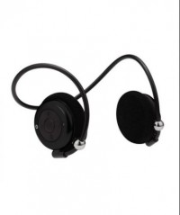 Atitude Flexible Bluetooth Headphone with Microphone (Black)