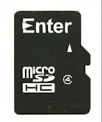 Enter Micro SD Card 2 GB