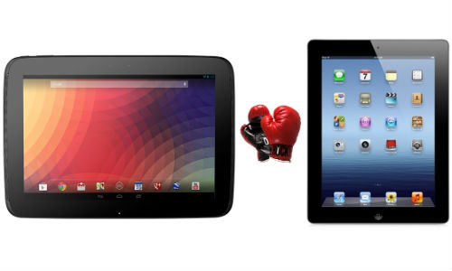 Google Nexus 10 vs Apple iPad 4: Big Fight Between 10 Inch Tablets