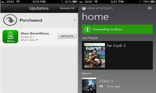 Xbox SmartGlass iOS App updated with a New Look for iPhone 5