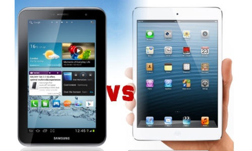 Apple iPad Mini vs Samsung Galaxy Tab 2 P3100: Mini Tablet Comparison