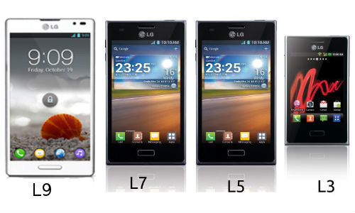 LG Optimus L3, L5, L7 and L9 Smartphones Account Over 10 Million Sales