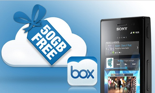 Sony-Box Partnership Renewed Until 2013 to Offer 50GB Free Cloud Stora