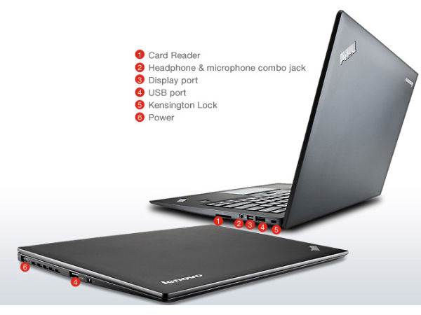 Lenovo ThinkPad X1 Carbon Touch Ports