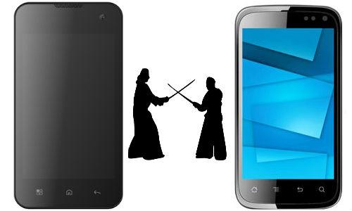 Lava Iris N400 vs Karbonn A15: Clash Between Entry-Level Smartphones
