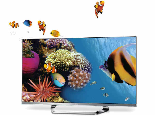 LG 55 inches LM6200 Cinema 3D Television