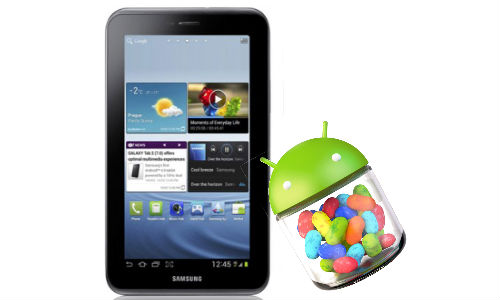 Samsung Galaxy Tab 2 7.0 Jelly Bean: How to Install Upgrade?