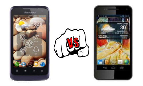 Lenovo IdeaPhone P700i vs Micromax A90S Pixel: Dual SIM Handset Fight