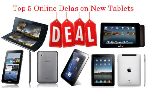 Weekend Shopping Guide: Top 5 Online Deals on Latest Tablets