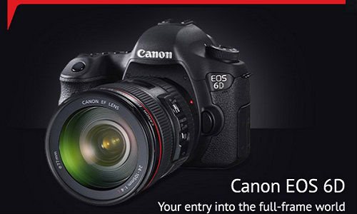 Canon EOS 6D DSLR Unveiled in India at Rs 1,66,995 With Wi-Fi, GPS
