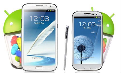 Samsung Galaxy S3, Note 2 to Get Android 4.2 Jelly Bean Upgrades