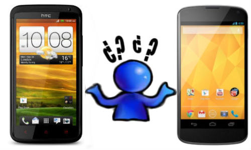 HTC One X+ vs LG Nexus 4: Shootout Between Jelly Bean Smartphones